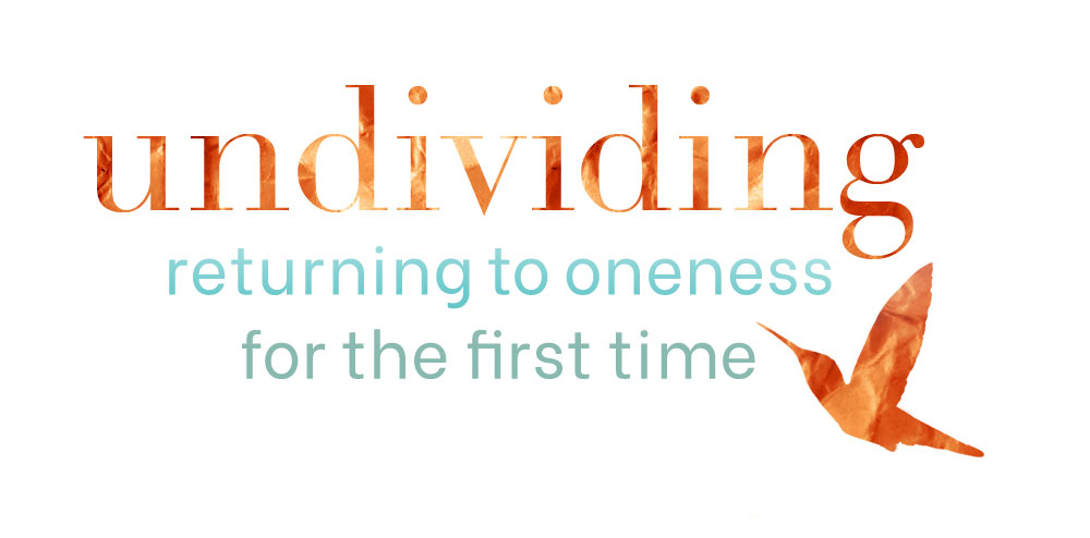 "Título del libro espiritual ""Undividing: Returning to Oneness for the First Time"""